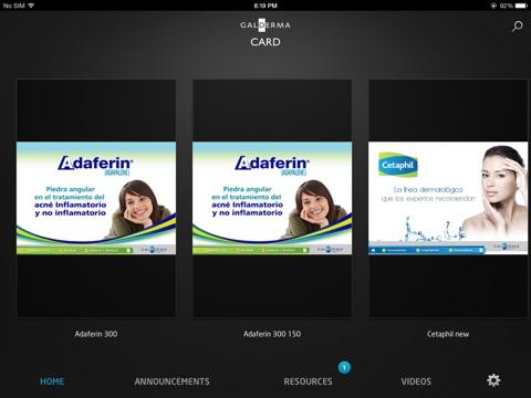 CardGalderma screenshot 2