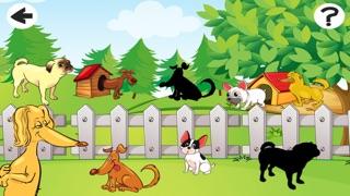 Screenshot of Incredibile Cane e Puppy Game-s Per il Vostro Bambino: My First Puzzles1