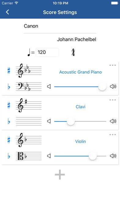 Pad 五线谱钢琴谱作曲iPhone版下载