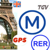 Paris Metro RER - Trains, TGV, eurostar, Taxi, GPS, videos, help...