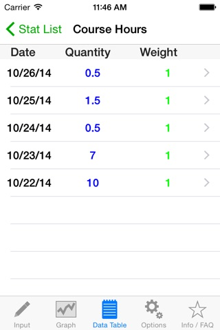 Stat App screenshot 3