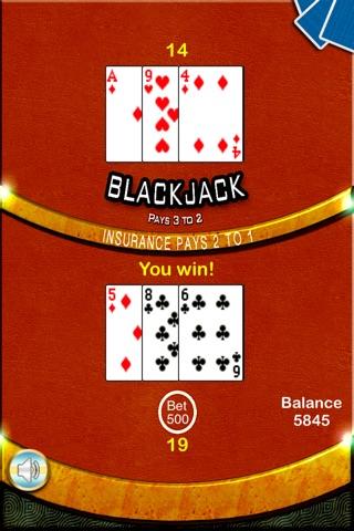 Blackjack 21 Casino - BlackJack Trainer screenshot 4