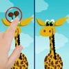 Finde die Unterschiede - Lustige freie Bildungs Form Matching-Spiel für Jungen, Mädchen, Kleinkinder und Vorschul