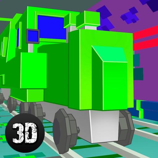 Pixel Subway Train Simulator 3D iOS App