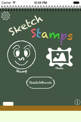 SketchStamps screenshot 1