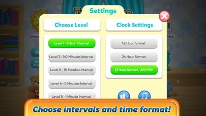 楽しい時間ゲームを伝える - インタラクティブアナログ時計と時計の読み方を学ぶのおすすめ画像5
