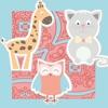 Animierte_s Tier-Spiel-e für Klein-Kinder ein Mal-buch für kluge Kids
