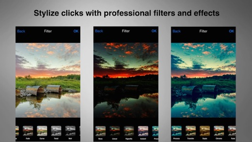 AfterClick - Amazing Photo Editor Filters and Effects Screenshot