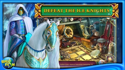 Dark Strokes:  The Legend of the Snow Kingdom – A Hidden Object Mystery-2