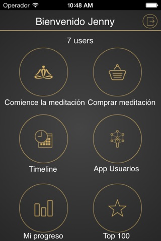 iMeditation Spanish screenshot 1