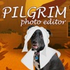 Pilgrim Character Dress Up Photo Editor for Thanksgiving Picture Shares