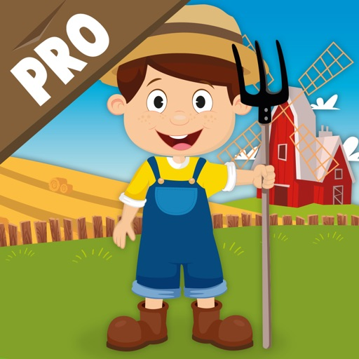 Milo's Mini Games for Tots, Toddlers and Kids of age 3-6 - Barn and Farm Animals Cartoon iOS App