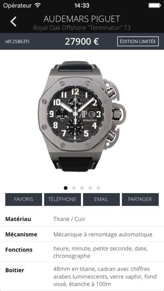 mmc montres modernes et de collection dans l app store