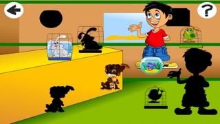 Actif! Jeu Pour Les Enfants À Apprendre et À Jouer Avec Les Animaux de CompagnieCapture d'écran de 3