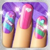 Glitter Nails™ Manicure Makeover Game for Girls