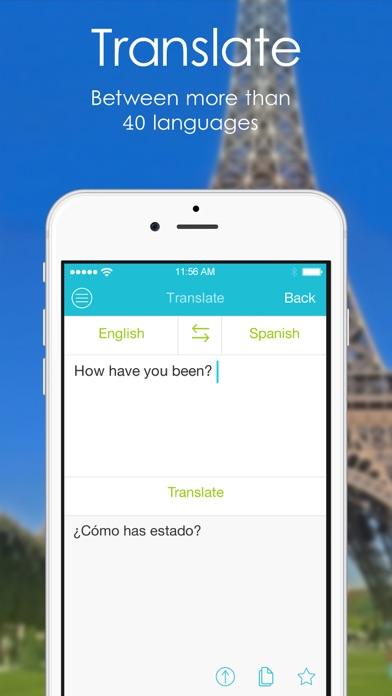 Page: Wörterbuch | Übersetzer, Korrektur Screenshot