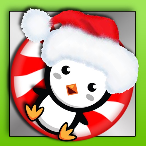 A Peppermint Penguin Saves Christmas-North Pole Gingerbread Obstacle Arcade Jump iOS App