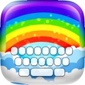 KeyCCM –  Rainbow : Custom Cute Color & Wallpaper Keyboard Designs Themes Style Photo Skins icon