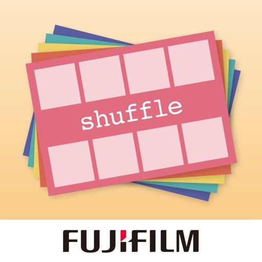 FUJIFILM シャッフルプリント 〜スマホやデジカメの画像をシャッフルして1枚に〜