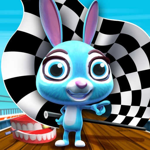 Turbo Fast Bunny - Speedy Rabbit Hopper - Fun Run Mini Race Game iOS App