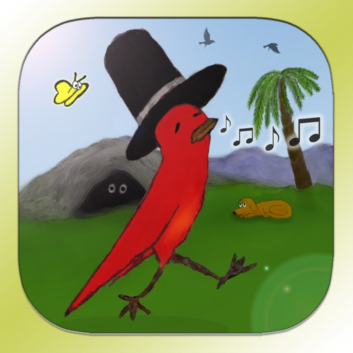 Striding Bird - An Interactive Tale for kids, families and educators