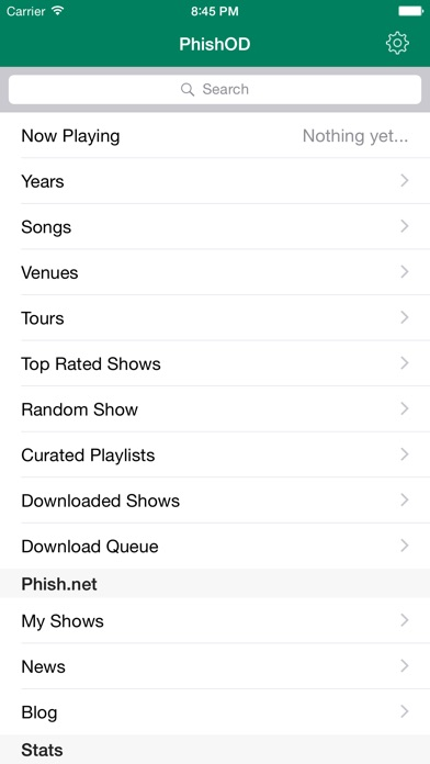 Phish On Demand - All Phish, all the time iPhone