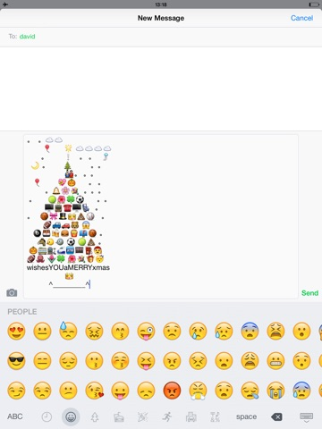 Screenshots of Emoji Keyboard Extra - Adult Emojis Icons & New Emoticons Art Fonts For Texting Free for iPad