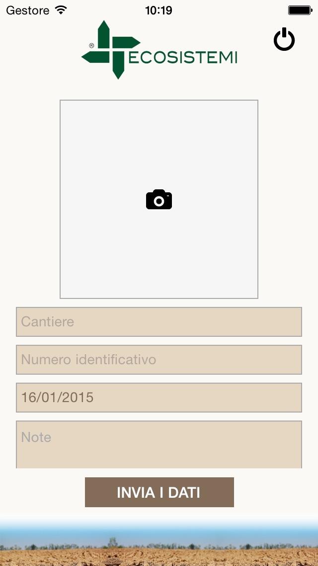 Screenshot of Ecosistemi QRgeo2