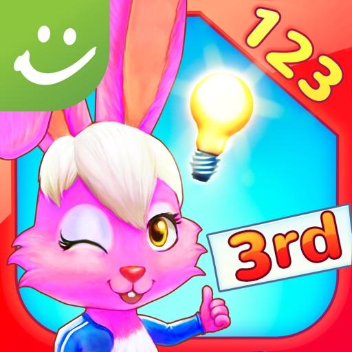 Wonder Bunny Math Race: 3rd Grade Multiplication, Fractions and More - A Sylvan Edge App iOS App