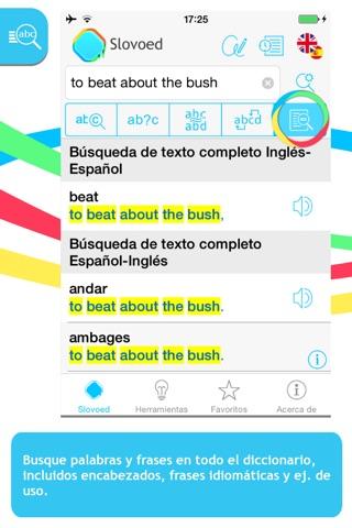 Diccionario Inglés <> Español screenshot 2