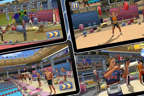 Athletics 2: Summer Sports screenshot 1