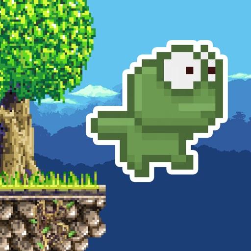 Falling Frog ! iOS App