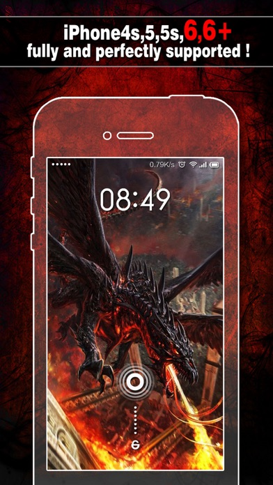 download Dragon Wallpapers, Backgrounds & Themes Pro - Lock Screen Maker with Cool HD Dragon Pics apps 1