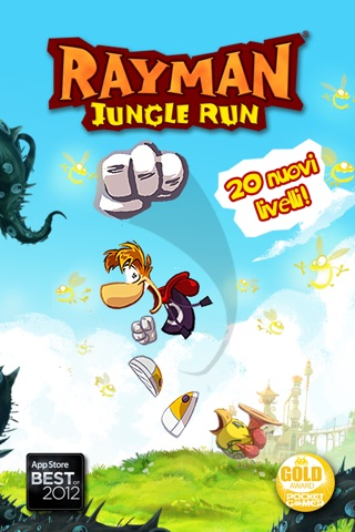 Rayman Jungle Run screenshot 1