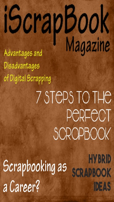 iScrapbook Magazine screenshot1