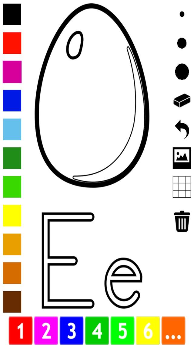 download Abc Livre à colorier pour les tout-petits: Apprendre à écrire et dessiner les lettres de l'alphabet en anglais avec de nombreuses photos pour l'école, préscolaire et à la maternelle apps 4