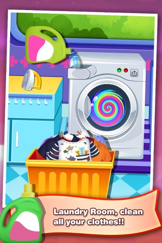 Clean House! - Kids Home Care games screenshot 4