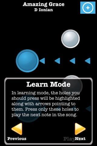 Ocarina with Songs screenshot 2