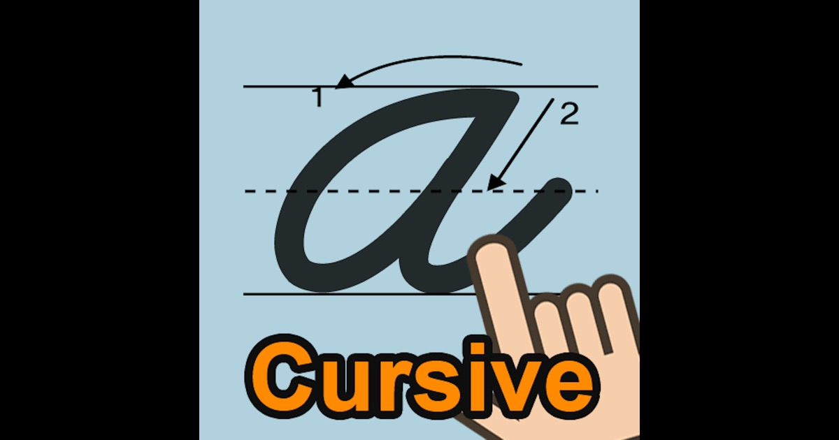 Cursive writing app uky
