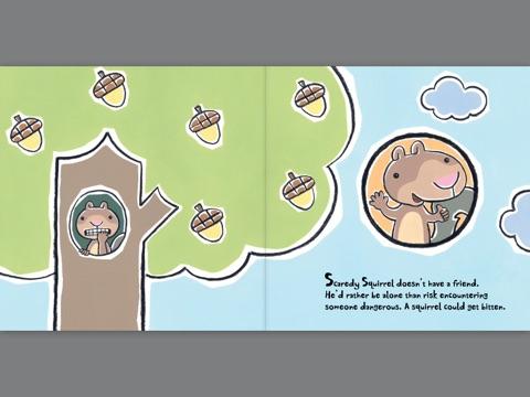:FB2: Scaredy Squirrel Makes A Friend Book. expire steal Renzi BOARD servicio hasta imagen mostrado
