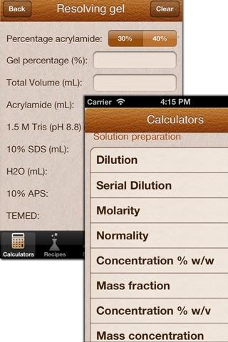 Mr BioChem - Biochemistry lab help screenshot 2