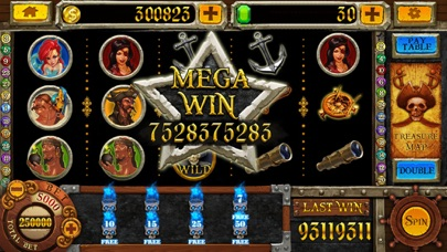 Screenshots of Pirate Slots™ for iPhone