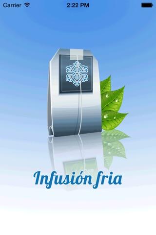 Infusión Fría Pro screenshot 1