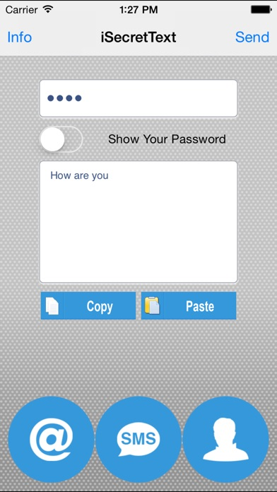 download iSecretText (Secret SMS, Email...) apps 0