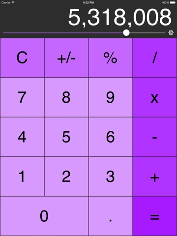 Decimal Calculator (No Ads, Links or IAP) Screenshot 3