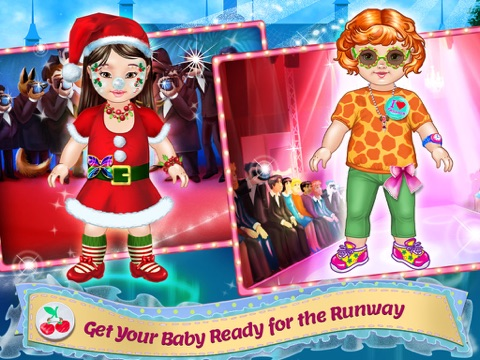 Design It! - Baby Fashion Designer: Dress Up , Make Up and Outfit Maker & Tailor для iPad