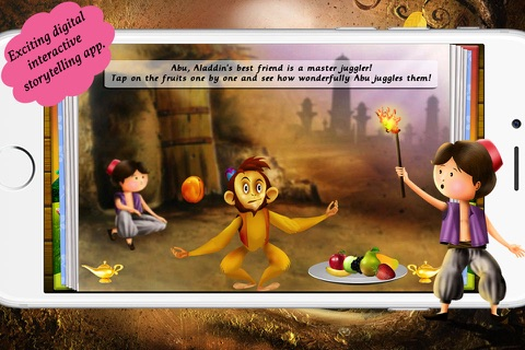 Aladdin and the Magical Lamp by Story Time for Kids screenshot 4