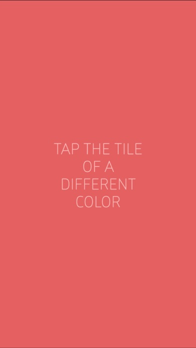 color shades ~ tap the different color shade if you can spotter