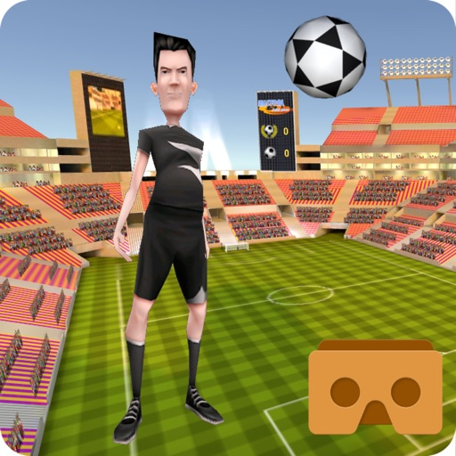 Virtual Reality Soccer Header training iOS App