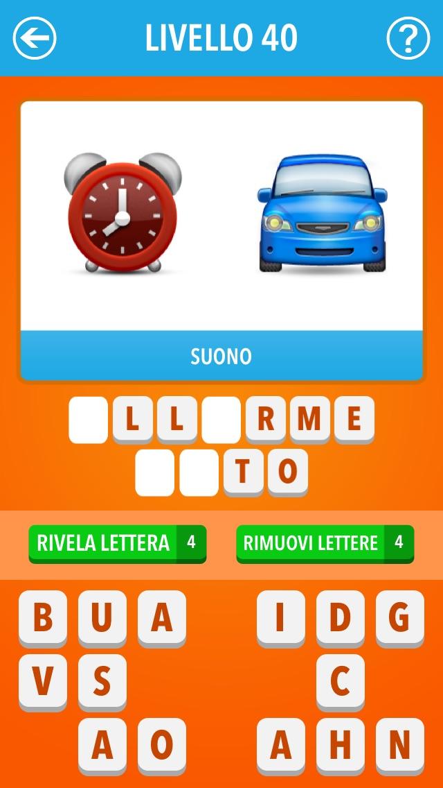 Screenshot of Emoji Quiz Italia ~ Film, TV, personaggi famosi, marche2